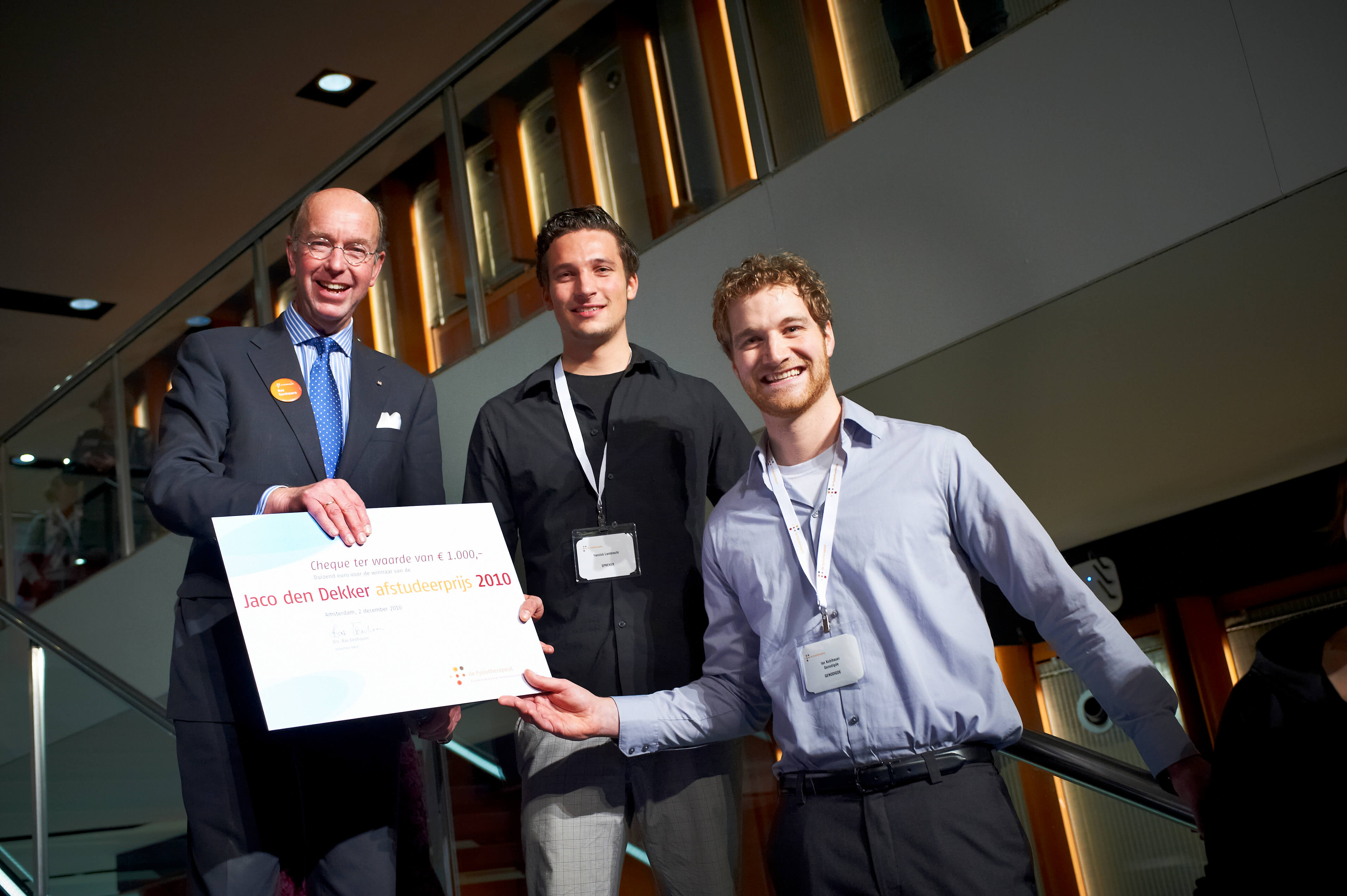KNGF thesis award ESP Amsterdam