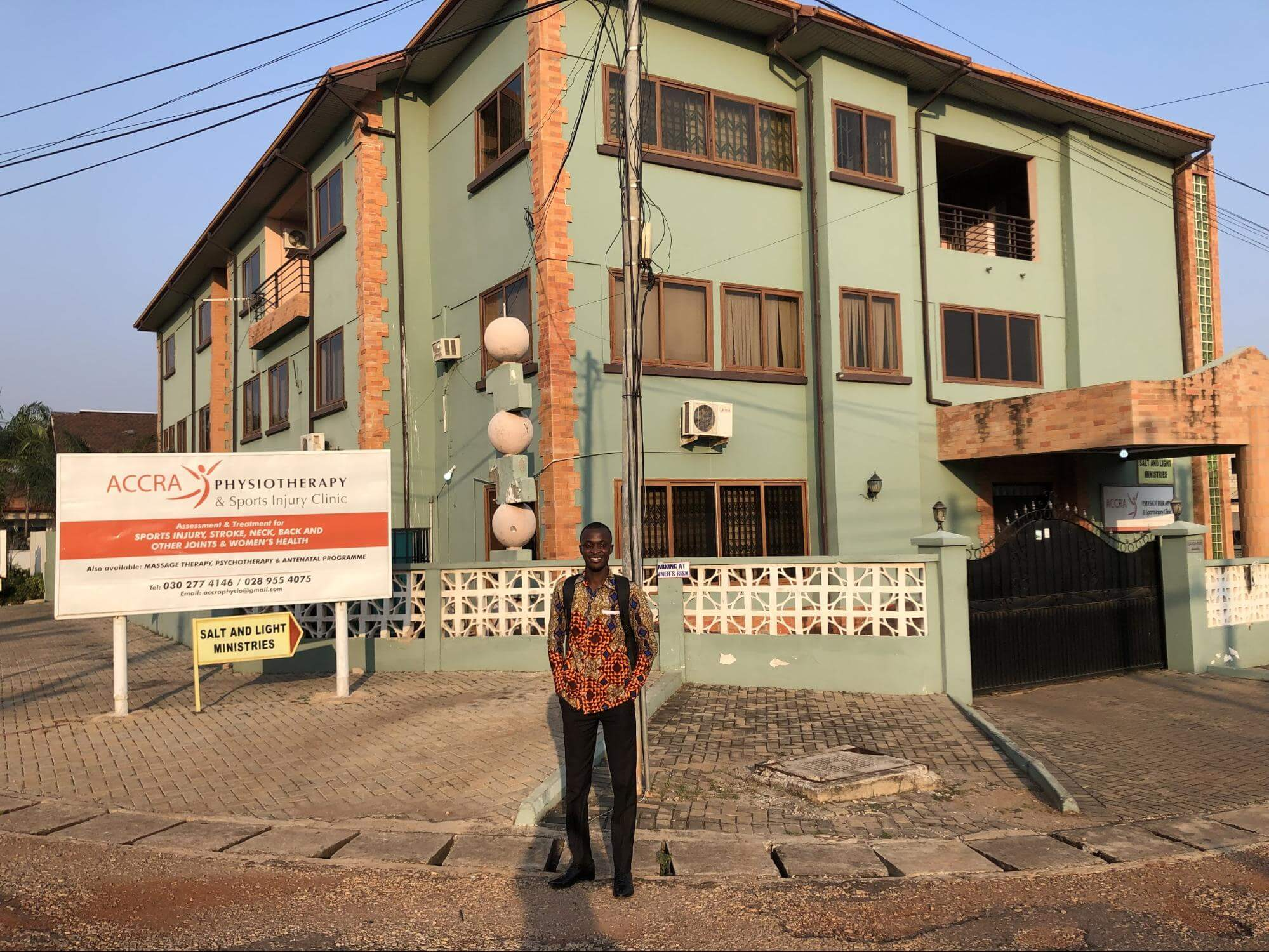 ESP internship stories: Laura in Accra Ghana 2